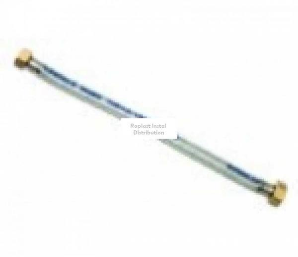"Racord flexibil cu invelis din cauciuc 1/2"" 50cm 0"