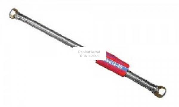 "Racord flexibil din inox 60 cm 1/2""FI 0"
