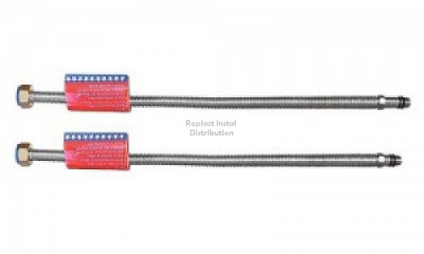 Racord flexibil monocomanda din inox 1/2*30cm 0
