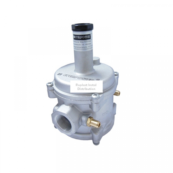 "Regulator de gaz cu filtru 3/4"" Everpower 0"