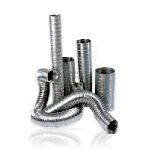 Tub flexibil aluminiu 130 0
