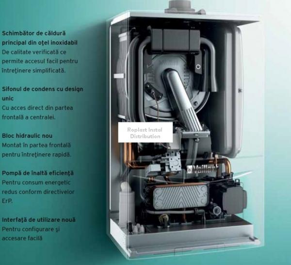 Centrala Termica pe gaz in condensare VAILLANT EcoTEC Pure VUW 286/7-2 26.1KW [2]