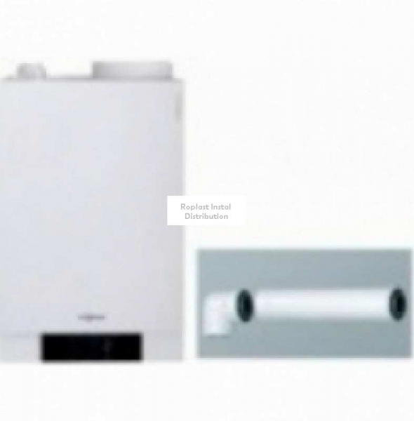 Centrala Termica pe gaz in condensare VIESSMANN VITODENS 111 W 26 KW cu boiler incorporat de 46 litri 0