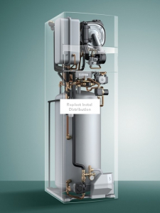Centrala Termica pe gaz in condensare 26kW Vaillant ecoCompact VSC INT 266/4 - cu boiler incorporat 200 L2