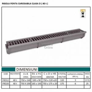 RIGOLA SCURGERE FONTA RC 200