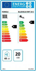 Centrala Termica pe gaz in condensare FERROLI Bluehelix Tech RRT 24C1