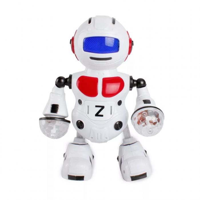 Robot dansator cu sunete si lumini, Rosu, Toyska [0]