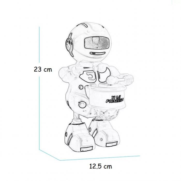 Robot dansator cu sunete si lumini, Toyska [1]