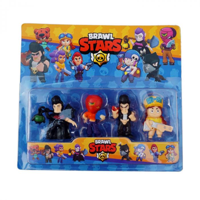 Figurine Brawl Stars, set 4 eroi, Toyska [0]