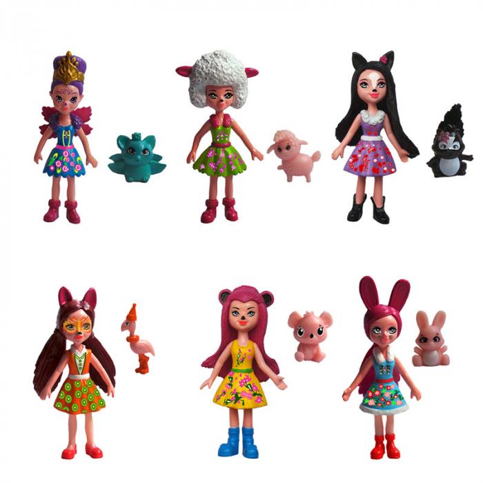Set Papusi-Figurine cu Animalute, EnchanTimals [1]