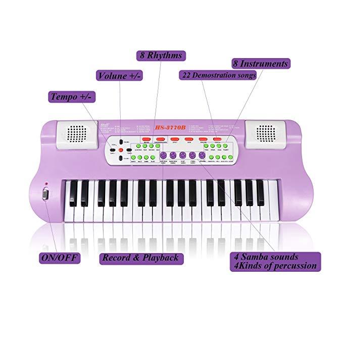 Orga Electronica cu microfon, Functii multiple, 50 cm, Toyska [2]