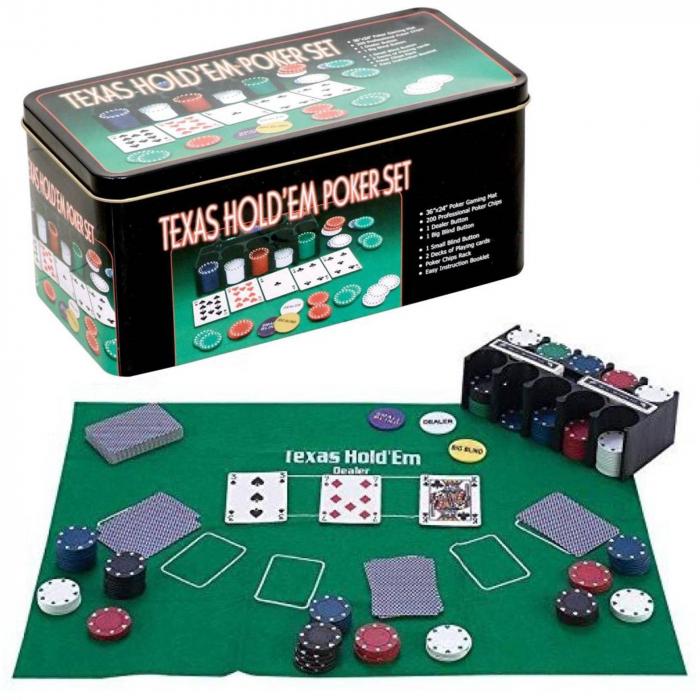 Set Poker Texas 200, jetoane si carti, Toyska [0]