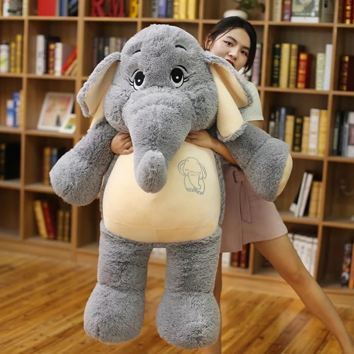 Jucarie de plus Elefant, 95 cm, Toyska [0]