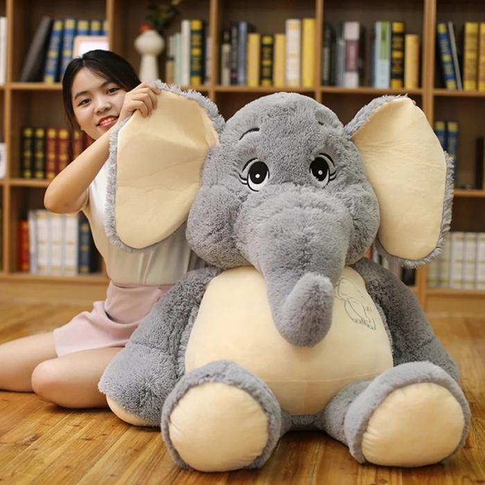 Jucarie de plus Elefant, 95 cm, Toyska [1]