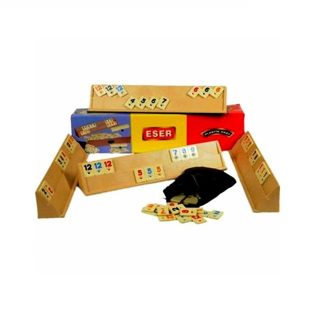 Joc Remi, Rummy Eser, table plastic, Toyska [2]
