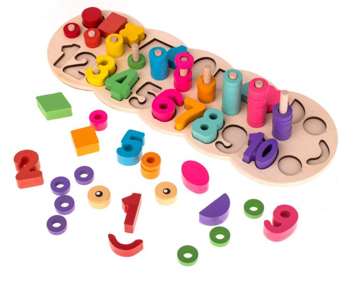 Tablita Educativ Logaritmica 3 in 1, Omida Vesela, Toyska [2]