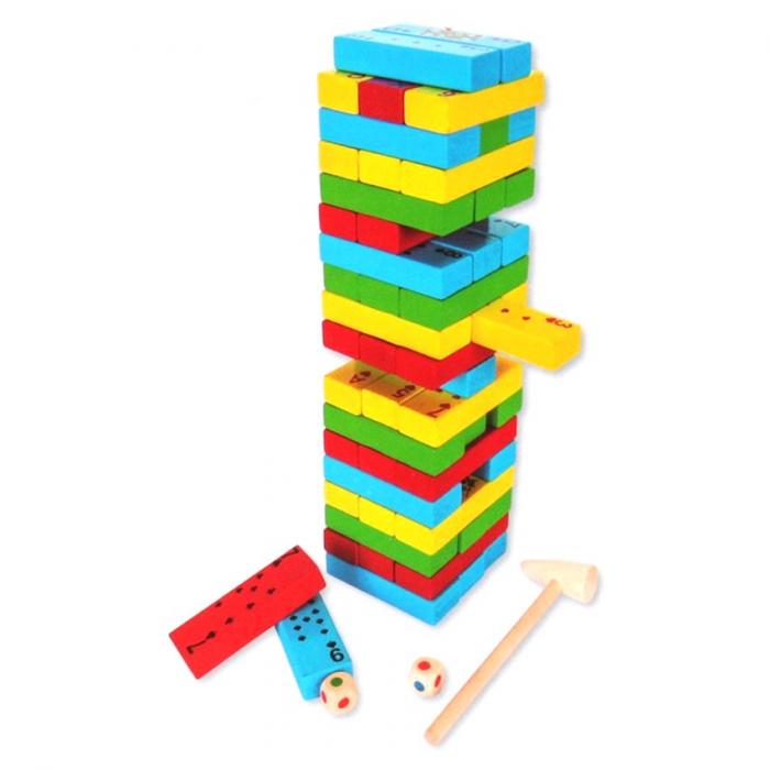 Joc de Inteligenta Domino, 54 piese, Toyska [1]