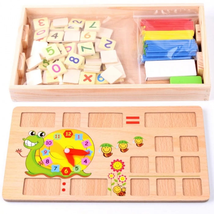 Joc multifunctional Montessori Matematica, Toyska [3]