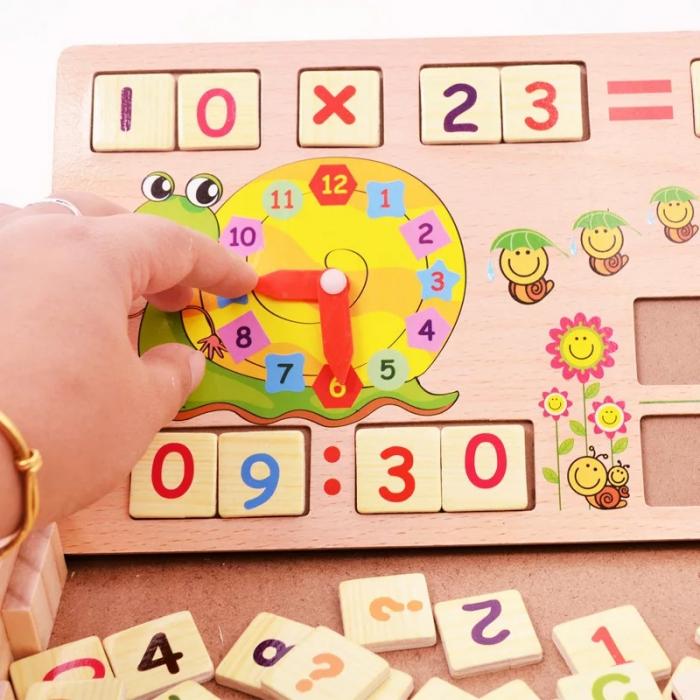 Joc multifunctional Montessori Matematica, Toyska [4]