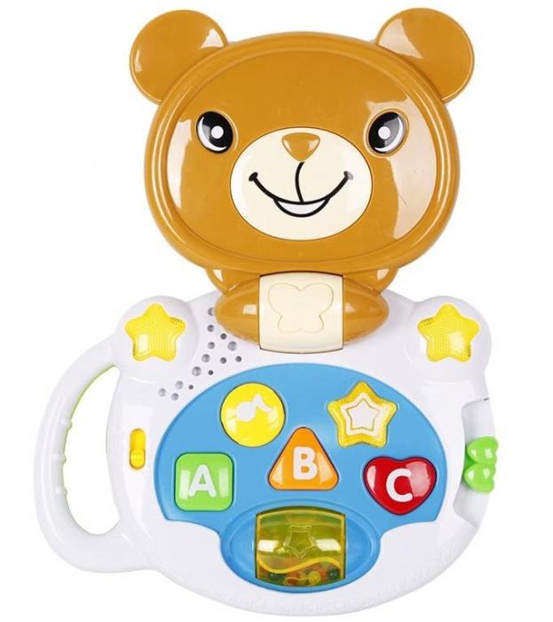 Laptop interactiv, Jucarie bebe Ursulet, Toyska [0]