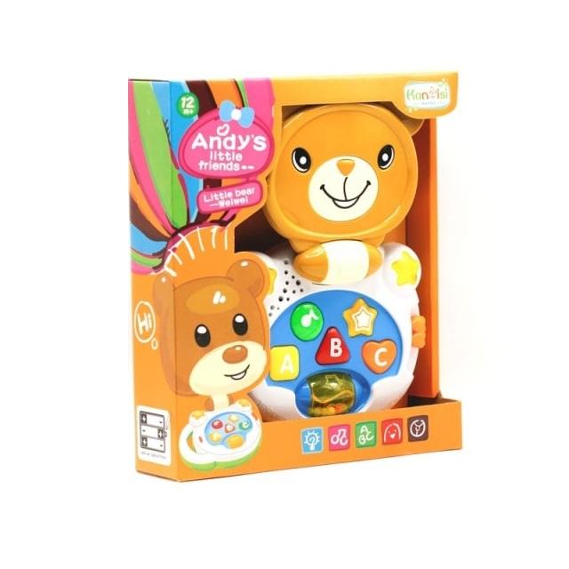 Laptop interactiv, Jucarie bebe Ursulet, Toyska [4]