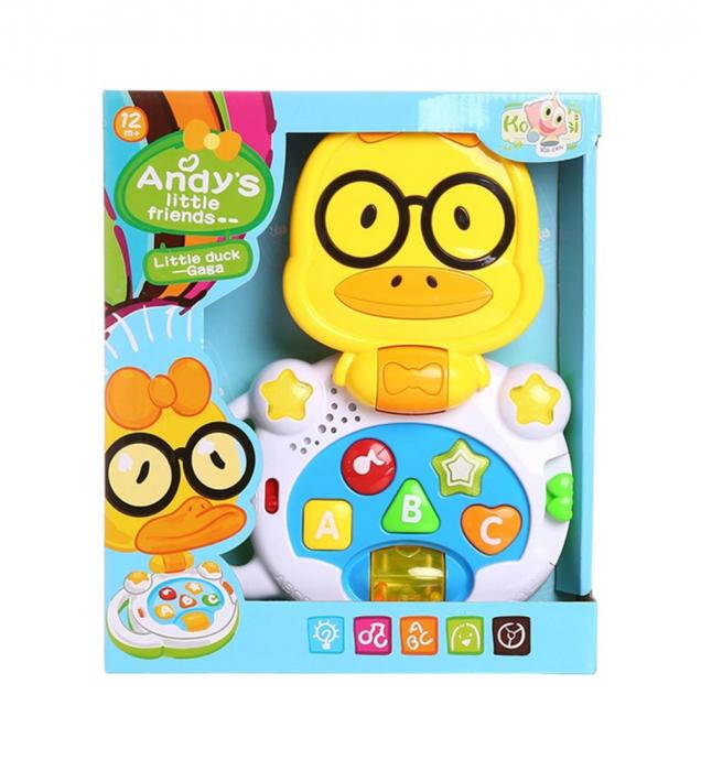 Laptop interactiv, Jucarie bebe Ratusca, Toyska [0]