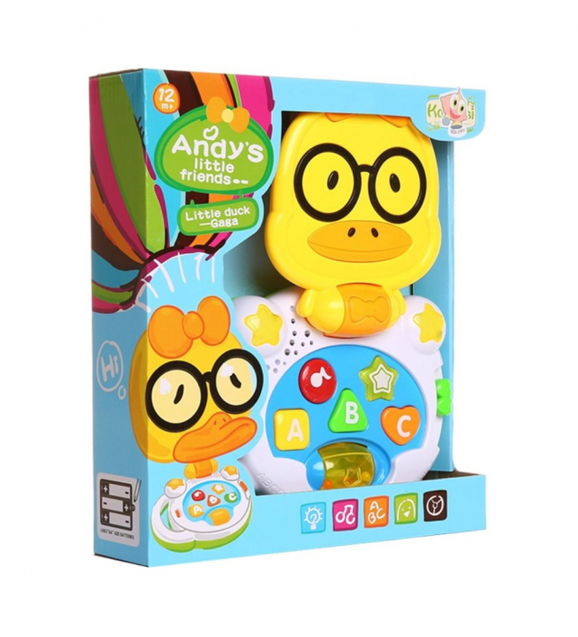 Laptop interactiv, Jucarie bebe Ratusca, Toyska [1]