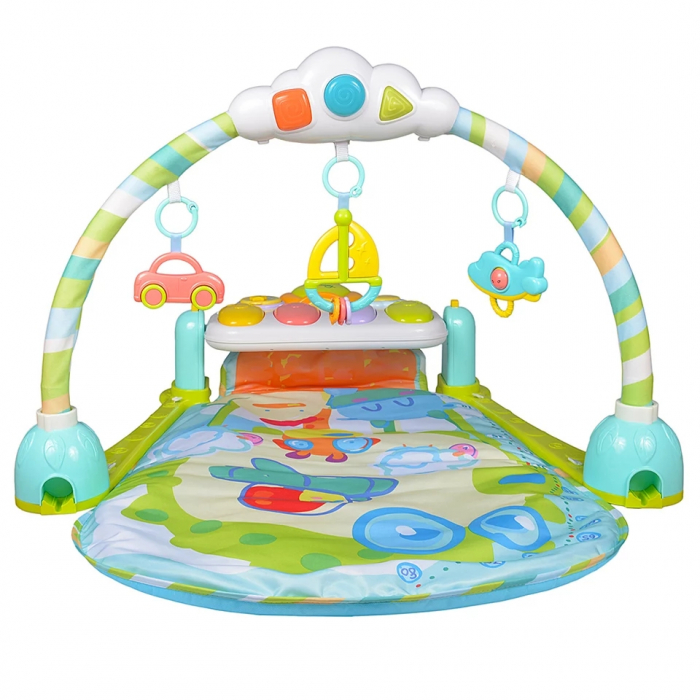Saltea de joaca bebe cu pian Go!Go!, 92x80, Toyska [0]