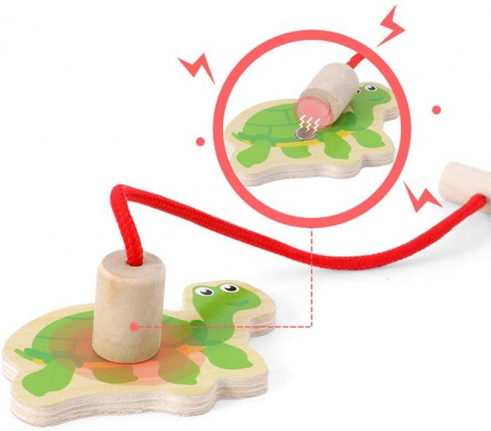 Joc lemn Pescuit Magnetic Marine, Toyska [1]