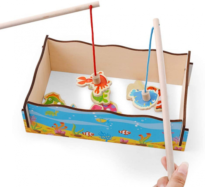Joc lemn Pescuit Magnetic Marine, Toyska [2]
