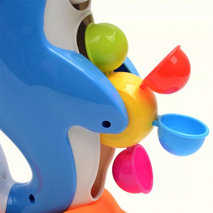 Jucarie baie Delfin, 28 cm, Toyska [5]