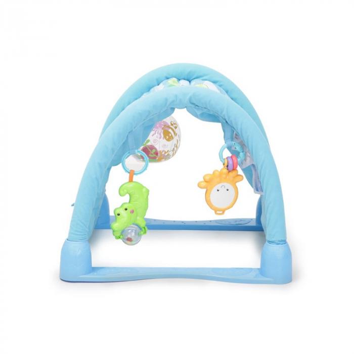 Saltea de joaca 3 in 1 Smart Baby Ocean Paradise, Toyska [2]