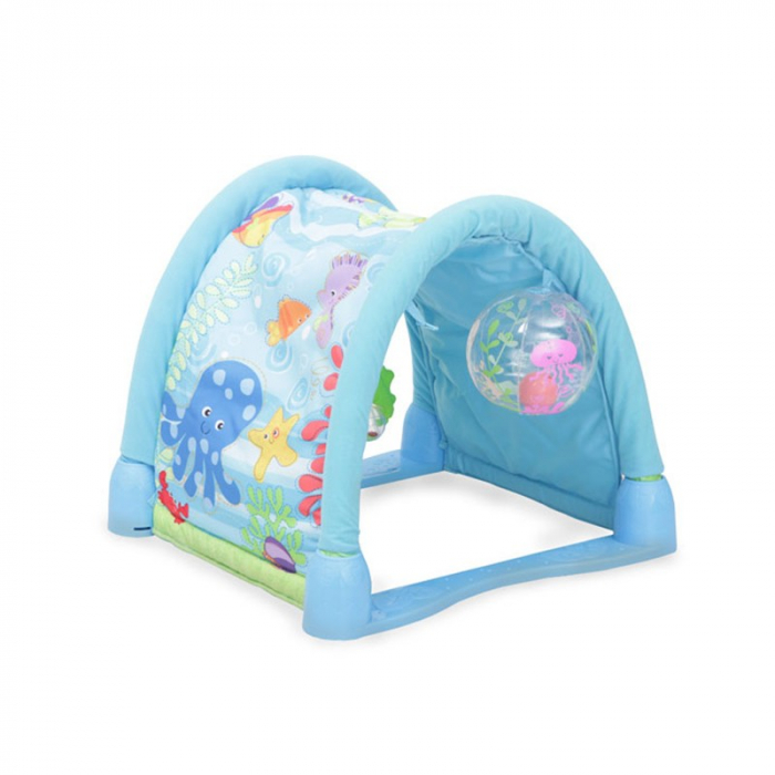 Saltea de joaca 3 in 1 Smart Baby Ocean Paradise, Toyska [4]