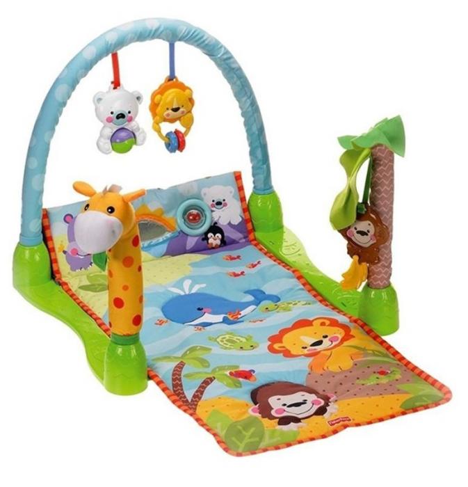Saltea de joaca 3 in 1 Smart Baby, Muzicala, Toyska [0]