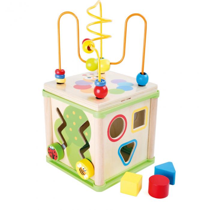 Cub activitati 5 in 1 In Gradina Top Bright, Multicolor [0]