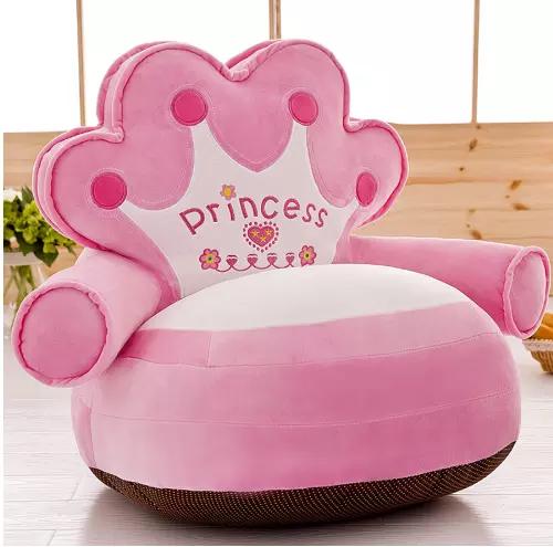 Fotoliu din plus pentru copii, Princess,Roz [2]