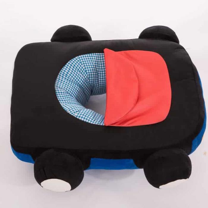 Fotoliu din plus bebe Masinuta, albastru [4]