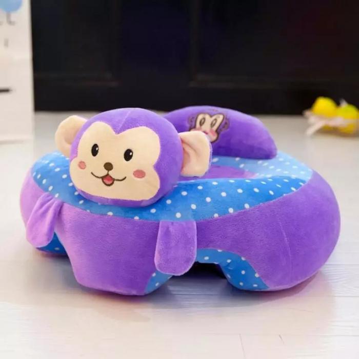Fotoliu din plus pentru bebelusi Maimutica, mov [1]