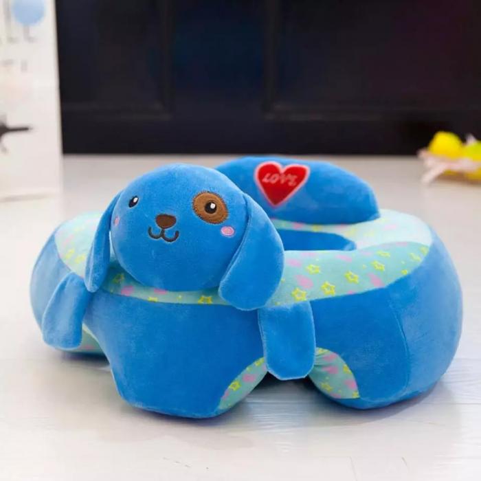 Fotoliu din plus pentru bebelusi Catel, albastru [3]