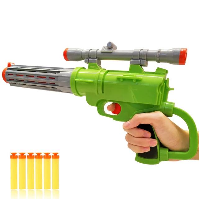 Pusca  Soft Bullet Gun cu gloante din spuma, multicolor [0]