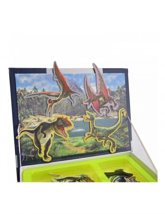 Carte mangetica Dinosaur Spell, Lumea Dinozaurilor, 57 piese [3]