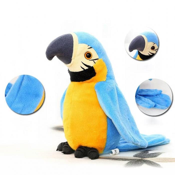 Jucarie de Plus Interactiva Papagal Vorbitor [3]