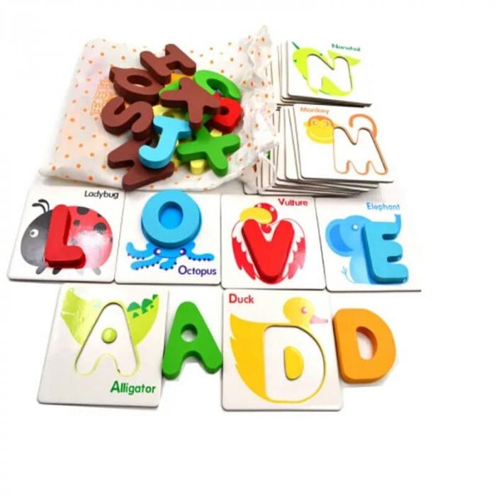 Joc educativ cartonase si litere [0]