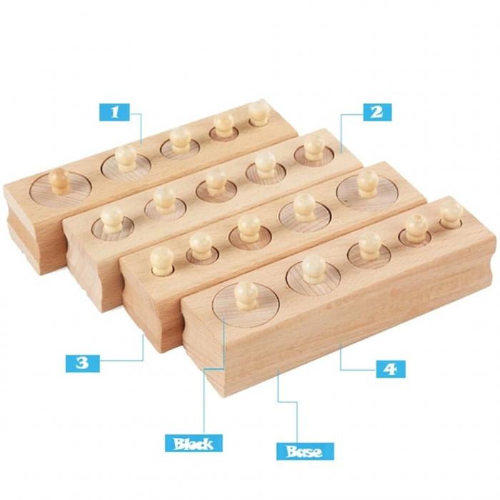 Set cilindrii din lemn [3]