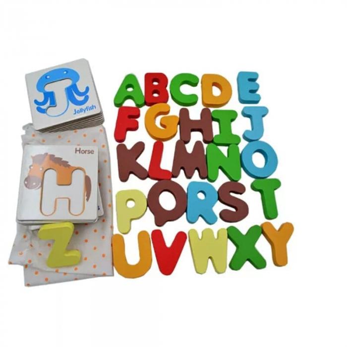 Joc educativ cartonase si litere [2]