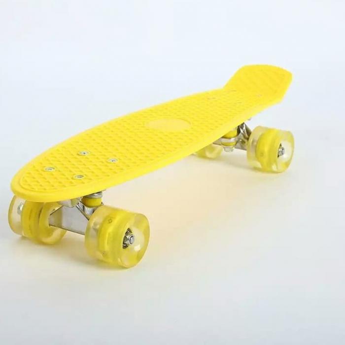 Penny board cu roti luminoase LED [1]