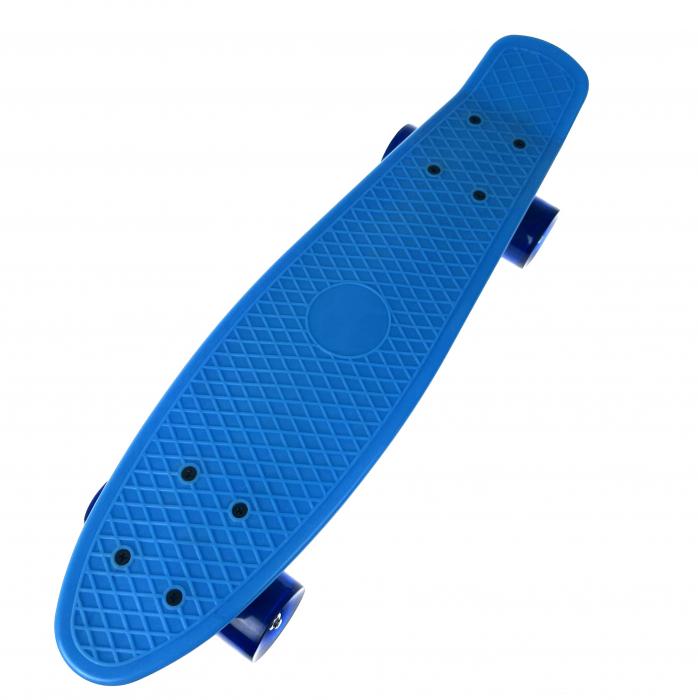 Penny Board ABEC-7, 56 cm, Albastru, Toyska [0]