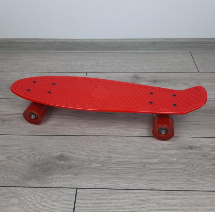 Penny Board ABEC-7, 56 cm, Rosu, Toyska [0]