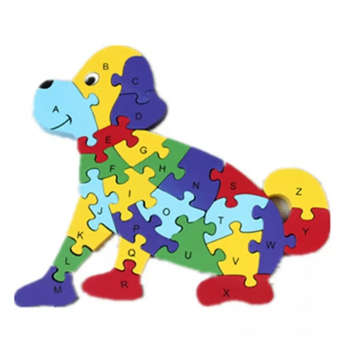 Puzzle din lemn animale [4]