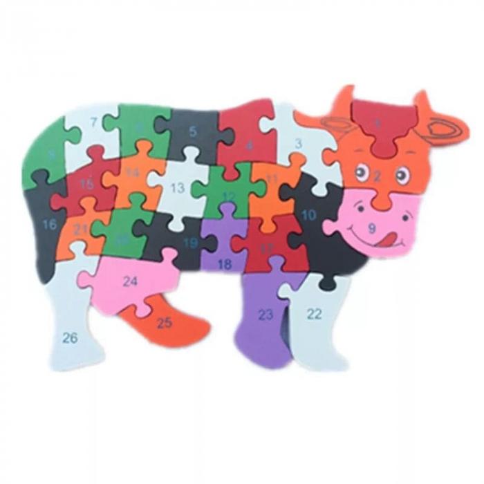 Puzzle din lemn animale [3]